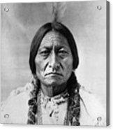 Sitting Bull (1834-1890) Acrylic Print by Granger