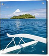View Of Tahiti Acrylic Print by Joe Carini - Printscapes