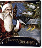 American Christmas Card Acrylic Print by Granger