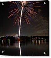 4th Of July Acrylic Print by Lone  Dakota Photography