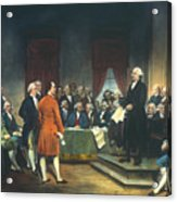 Constitutional Convention Acrylic Print by Granger