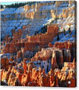 Sunset Point In Bryce Canyon Acrylic Print by Pierre Leclerc Photography