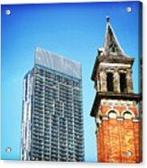 Manchester - Beetham Tower Acrylic Print by Hristo Hristov
