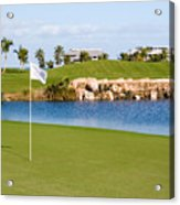 Florida Gold Coast Resort Golf Course Acrylic Print by ELITE IMAGE photography By Chad McDermott