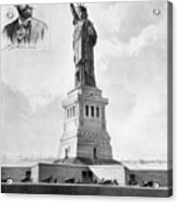 Statue Of Liberty, 1886 Acrylic Print by Granger