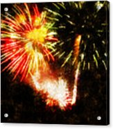A 4th Celebration  Acrylic Print by Adam Vance