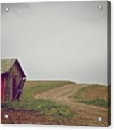 A Bend In The Road Acrylic Print by Odd Jeppesen