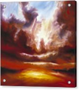 A Cosmic Storm - Genesis V Acrylic Print by James Christopher Hill