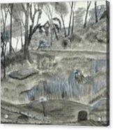 A Fond Memory... No. Two Acrylic Print by Robert Meszaros