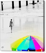 A Hot Summer Day Acrylic Print by Susanne Van Hulst