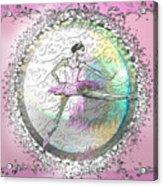A La Second Pink Variation Acrylic Print by Cynthia Sorensen