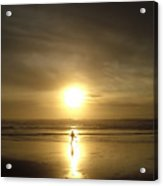 A Moment In The Sun Acrylic Print by Nick Gustafson