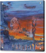 A Mystery Of Gods Acrylic Print by Steve Karol