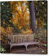 A Place To Rest Acrylic Print by Jessica Jenney
