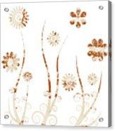A Shabby Meadow Acrylic Print by Frank Tschakert