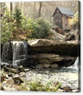 A Simple Place And Time Acrylic Print by Wallace Marshall