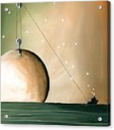 A Solar System Acrylic Print by Cindy Thornton