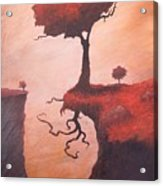 A Totem Of Will Acrylic Print by Ethan Harris