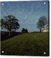 A View Of Mount Vernon, The Home Acrylic Print by Medford Taylor