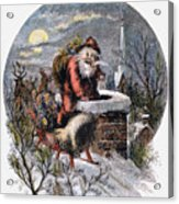A Visit From St Nicholas Acrylic Print by Granger
