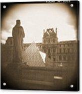 A Walk Through Paris 16 Acrylic Print by Mike McGlothlen
