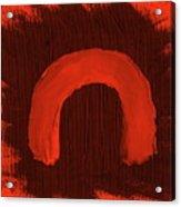 Aborigine Woman 2 Acrylic Print by Richard W Linford