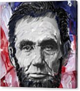 Abraham Lincoln - 16th U S President Acrylic Print by Daniel Hagerman