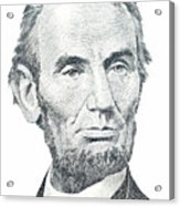Abraham Lincoln Acrylic Print by David Houston