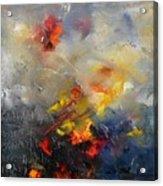 Abstract 0805 Acrylic Print by Pol Ledent