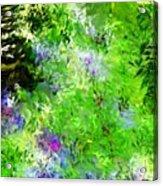 Abstract 5-26-09 Acrylic Print by David Lane