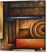 Abstract Design 30 Acrylic Print by Michael Lang