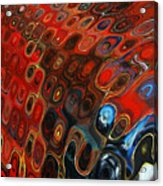 Abstract-infinity Two Acrylic Print by Patricia Motley