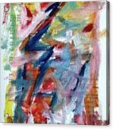 Abstract On Paper No. 36 Acrylic Print by Michael Henderson