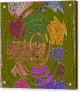 Abstract Shapes Acrylic Print by Joseph Baril