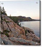 Acadia Cliffs Acrylic Print by Alexander Mendoza