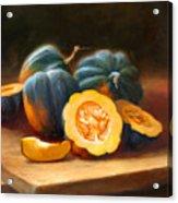 Acorn Squash Acrylic Print by Robert Papp