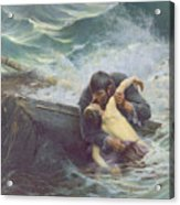 Adieu Acrylic Print by Alfred Guillou