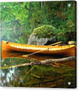 Adirondack Guideboat Acrylic Print by Frank Houck