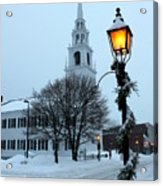 After The Snowfall Acrylic Print by Suzanne DeGeorge