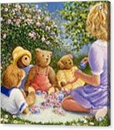 Afternoon Tea Acrylic Print by Susan Rinehart