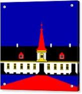 Agersboel Manor House Acrylic Print by Asbjorn Lonvig