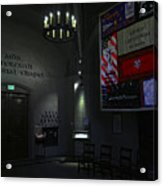 Aids Interfaith Memorial Chapel - San Francisco Acrylic Print by Daniel Hagerman