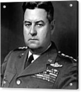 Air Force General Curtis Lemay  Acrylic Print by War Is Hell Store
