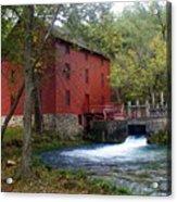 Alley Sprng Mill 3 Acrylic Print by Marty Koch