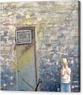 Alone Acrylic Print by Gale Cochran-Smith