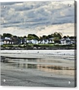 Along The Beach Acrylic Print by Joel P Black