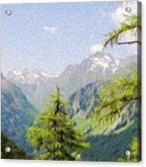 Alpine Altitude Acrylic Print by Jeff Kolker