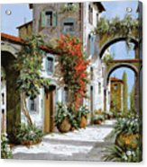 Altri Archi Acrylic Print by Guido Borelli