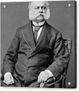 Ambrose Burnside And His Sideburns Acrylic Print by War Is Hell Store