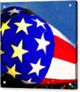 American Legend Acrylic Print by David Lee Thompson